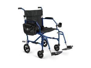 Medline MDS808200F2B Freedom 2 Transport Chairs,Blue Case Of 1 CS
