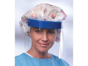 Medline NONFS300 3/4 Length Disposable Face Shields with Foam Top Case Of 96 EA