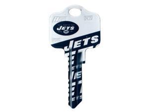 New York Jets Schlage SC1 House Key