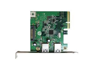 Archgon USB 3.1 Gen.2 PCI-Express Card Dual Type A Ports Chipset ASM1142