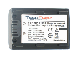 TechFuel Li-ion Rechargeable Battery for Sony DCR-HC35E Camcorder