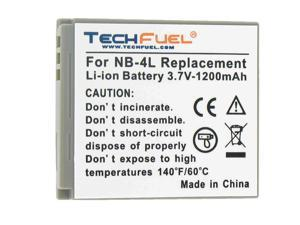 TechFuel Li-ion Rechargeable Battery for Canon PowerShot SD200 Digital Camera