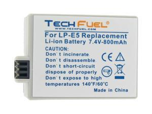 TechFuel Li-ion Rechargeable Battery for Canon EOS Rebel XS Digital Camera