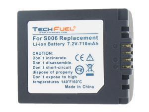 TechFuel Li-ion Rechargeable Battery for Panasonic CGR-S006 Digital Camera