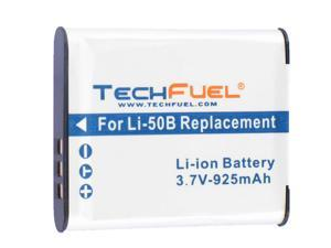 TechFuel Li-ion Rechargeable Battery for Olympus Stylus Tough 6020 Digital Camera
