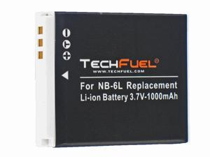 TechFuel Li-ion Rechargeable Battery for Canon NB6L Digital Camera