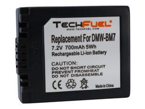 TechFuel Li-ion Replacement Battery for Panasonic Lumix DMC-FZ20, DMC-FZ10, DMC-FZ15, DMC-FP3AB Cameras