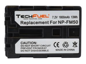 Sony DCR-TRV20, DCR-TRV480, DCR-TRV340 Camcorder TechFuel NP-FM50 Replacement Battery