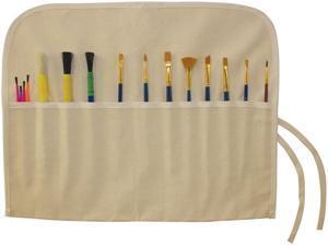 "Canvas Artist Brush Holder 18""X14""-Natural"