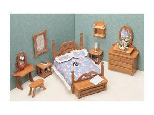 Dollhouse Furniture Kit - Bedroom