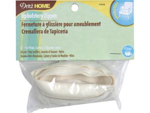 """Nylon Upholstery Zipper 30""""-Cream"""