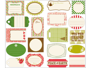 Twinkle Journal Tags 19/Pkg-