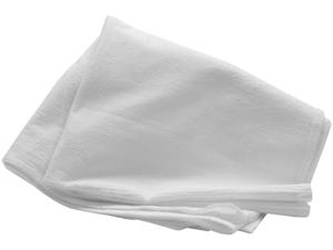 "Flour Sack Towels Bulk-32""X36"" White"