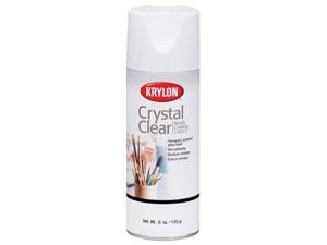 Krylon 137092 Crystal Clear Acrylic Coating Aerosol Spray-6 Ounces