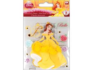 Jolees 448832 Disney Dimensional Sticker-Belle