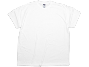 Adult White Tee-2 Extra Large
