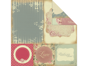 """Magnolia Grove Double-Sided Paper 12""""X12""""-Stylish"""