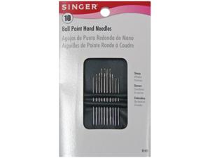 Ball Point Hand Needles-Assorted 10/Pkg
