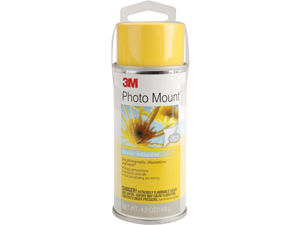3M Photo Mount Spray Adhesive 4.23 Ounce 6090