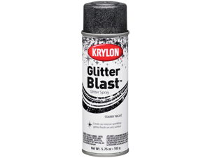 Krylon 472305 Glitter Blast Aerosol Spray 5.75 Ounces-Starry Night