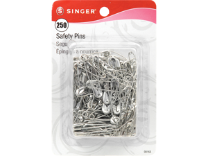 Safety Pins-Sizes 0-2 250/Pkg