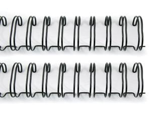 """Cinch Wires 5/8"""" 2/Pkg-Black"""