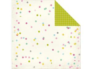 "Confetti Double-Sided Cardstock 12""X12""-Cheerful"