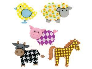 Dress It Up Embellishments-Funky Farm