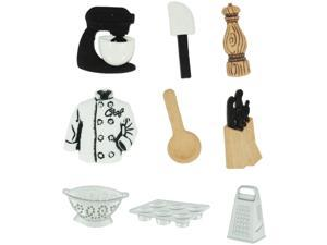 Dress It Up Embellishments-The Master Chef