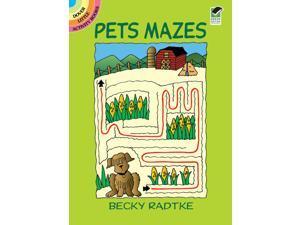 Dover Publications-Pets Mazes Book