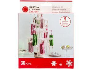 Merry & Bright Ribbon Ornaments-