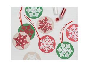 Rustic Ornament Kit-Snowflake