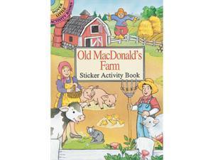 Dover Publications-Old Macdonald's Farm Stkr Actv Bk