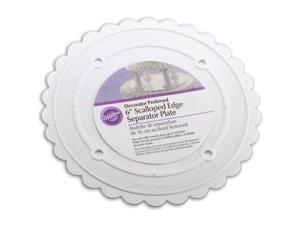 "Wilton 6"" Decorator Preferred Scalloped Separator Plate"