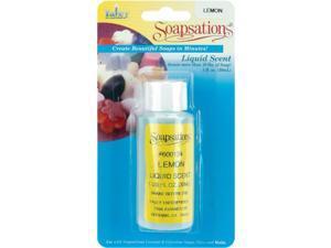 Soapsations Liquid Scent 1 Ounce Bottle-Lemon