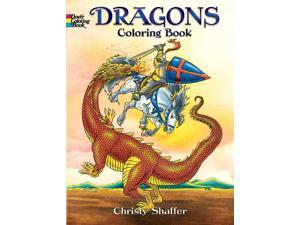 Dover Publications-Dragons Coloring Book