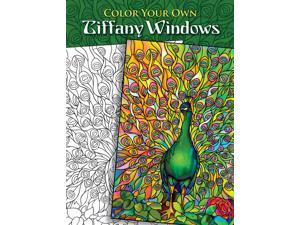 Dover Publications-Color Your Own Tiffany Windows