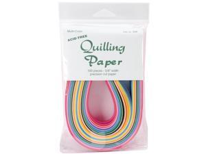 """Quilling Paper .625"""" 100/Pkg-25 Color Assortment"""
