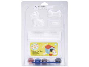 You Paint It Plaster Play Kit-Dog