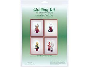 Quilling Kit-Pretty Fringed Blossoms