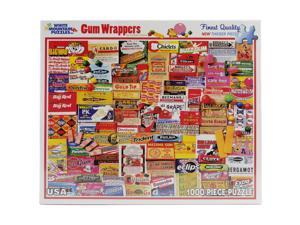 """Jigsaw Puzzle 1000 Pieces 24""""X30""""-Gum Wrappers"""
