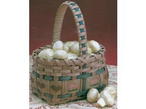 "Burgundy Hill Basket Kits-Market Basket 5-1/2""X3-1/2""X4"""
