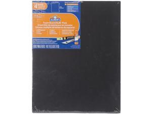 "Elmer's Foam Boards 11""X14""X.1875"" 4/Pkg-Black"