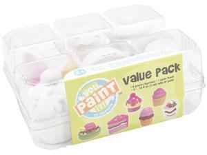 You Paint It Plaster Kit Value Pack-Desserts