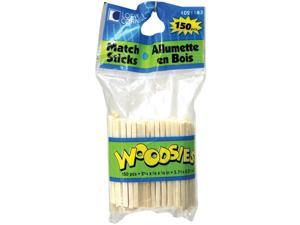 "Woodsies Match Sticks-Natural 2.25"" 150/Pkg"