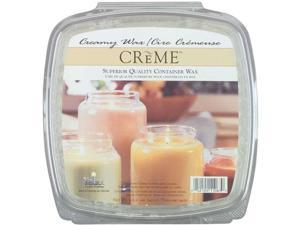 Creme Candle Wax 2 Pounds-For Glass Containers