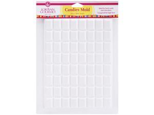 Breakup Candy Mold-Rectangle 64 Cavity (1 Design)