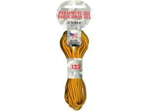 Parachute Cord 3mm 21 Feet/Pkg-Goldenrod