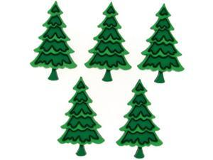 Dress It Up Holiday Embellishments-Frosted Forest