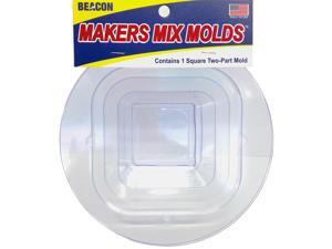 Makers-Mix Stepping Stone Mold 2/Pkg-Square